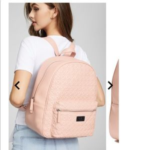 NWT G By Guess Omerica Backpack in Blush Pink